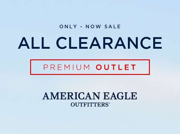 AMERICAN EAGLE OUTFITTERS<br> AEO CLEARANCE ~70%OFF