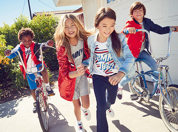 TOMMY HILFIGER KIDS<br> '18S/S NEW ARRIVALS
