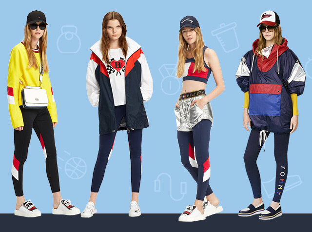TOMMY HILFIGER WOMEN<br>18SS ATHELETIC CAPSULE COLLETION