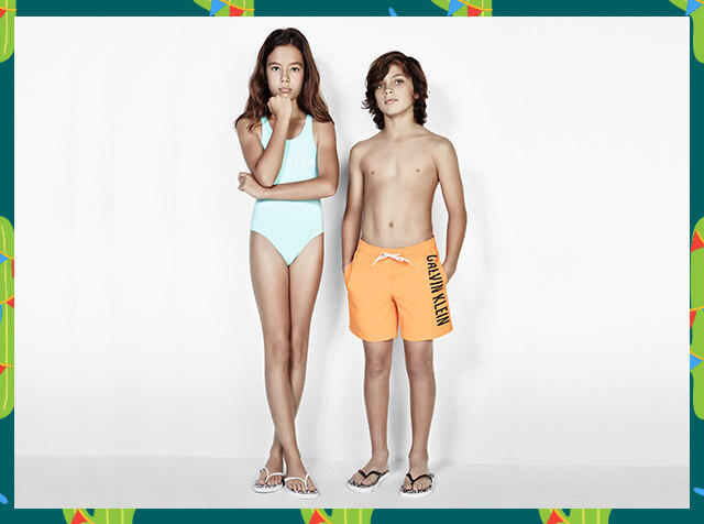 CALVIN KLEIN UNDERWEAR<br> UNDERWEAR FOR KIDS<br> H패션몰 단독 '18SS 신상품 40% OFF