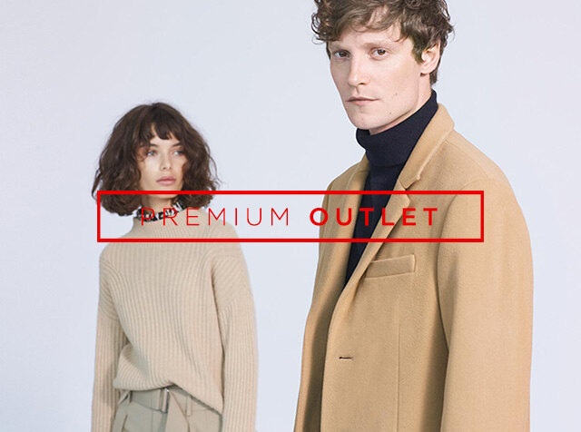 OUTLET<br> ONLINE EXCLUSIVE / up to 80% off