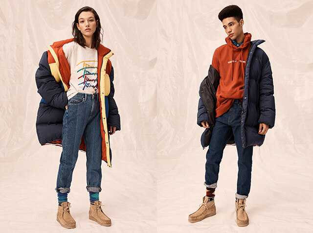 TOMMY JEANS<br> ♬윈터아우터 랩소디♬
