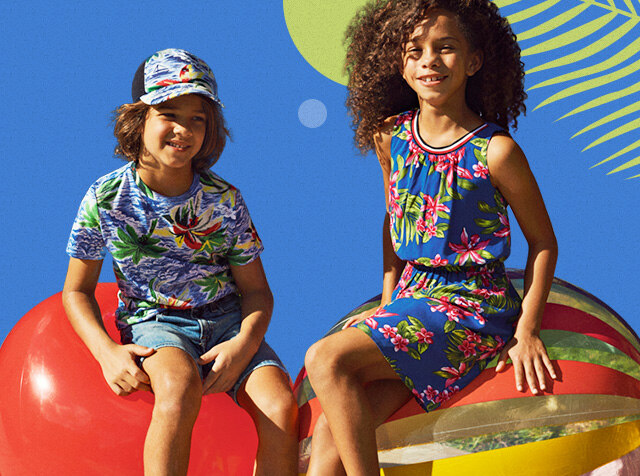 TOMMY HILFIGER KIDS<br> FUN IN THE SUN